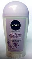 """Дезодорант-антиперсперант Nivea """"Двойной эффект"""" violet senses стик 40 мл"""