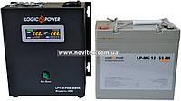 Комплект резервного питания ИБП Logicpower LPY-W-PSW-500 + АКБ LP-MG55