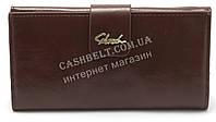Женский удобный кошелек коричневого цвета SACRED art.6982