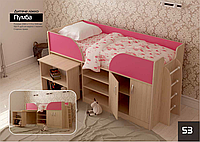 """Кровать детская односпальная """"Пумба"""""""