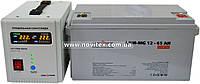 Комплект резервного питания ИБП Logicpower LPY-PSW-500 + АКБ LP-MG65, фото 1