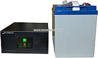 Комплект резервного питания ИБП Luxeon UPS-600NR + АКБ LX12-100G
