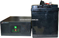 Комплект резервного питания ИБП Luxeon UPS-600NR + АКБ LX12-100MG