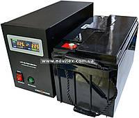 Комплект резервного питания ИБП Logicpower LPY-B-PSW-500 + АКБ LPM12-65, фото 1