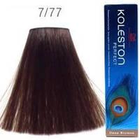 Краска для волос Wella Koleston Perfect  7/77 капучино