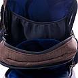 """Взрослый рюкзак """" LEO"""" (коричневый), фото 3"""