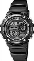 Часы Pro-Sport Q@Q  Water Resist 10Bar, противоударные, m154j002y