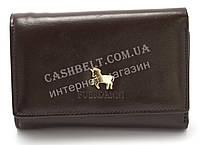 Компактный женский удобный кошелек коричневого цвета FUERDANI art.4465