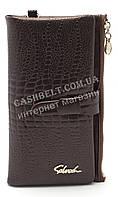 Женский удобный кошелек барсетка коричневого цвета SACRED art.8209