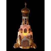 Соляная лампа Церковь 14-18 кг.