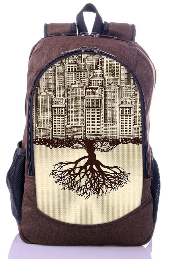 """Детский  рюкзак """" CITY"""" (коричневый)"""