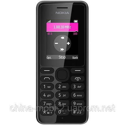 Телефон Nokia 108 dual Black ' ' ', фото 2