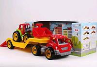 Автовоз з трактором ТехноК арт.3916
