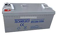 Аккумулятор гелевый Technology NPG12-200Ah 12V 200AH, фото 1