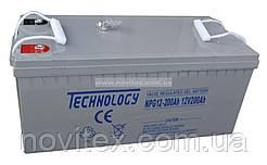 Аккумулятор гелевый Technology NPG12-200Ah 12V 200AH