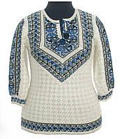 Волшебная вышиванка из льна для женщины