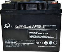 Аккумулятор мультигелевый Luxeon LX12-40MG 12V 40Ah, фото 1