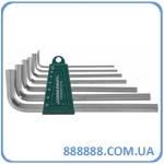 Комплект угловых шестиграников long 2,5-10 мм S2 H02SM107S Jonnesway