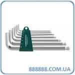 Комплект угловых шестиграников long+шар 2,5-10 мм S2 H05SM107S Jonnesway