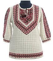 Модная вышиванка для женщины из льна