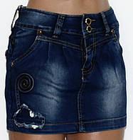 Юбка джинсовая для женщин р. 42   арт. C 3209# Турция