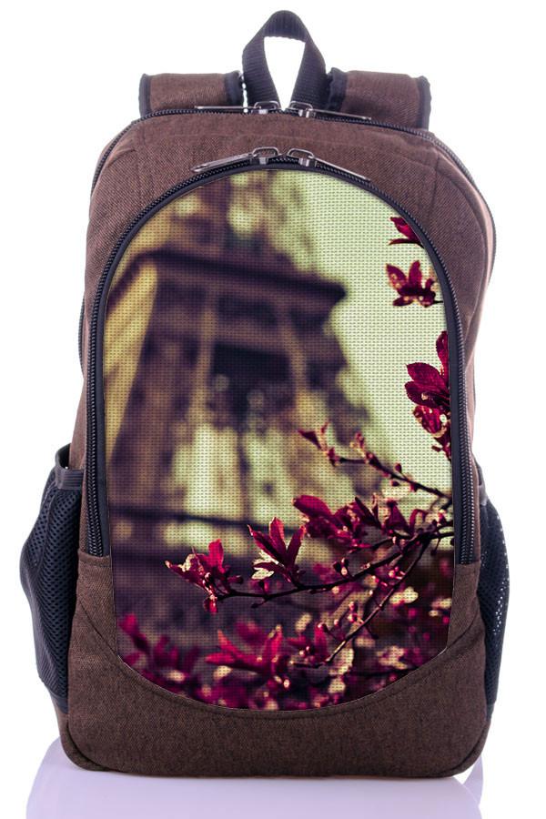 """Взрослый рюкзак """" PARIS"""" (коричневый)"""