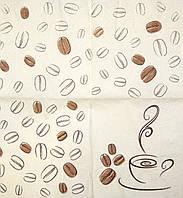 Салфетка декупажная Кофе 1950