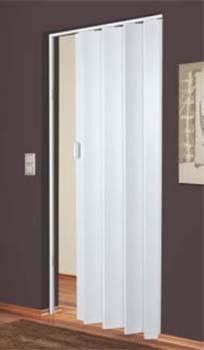 дверь гармошка Plaza германия 88x203 белое дерево рисунок дерева серого тона продажа цена в киеве двери межкомнатные от Smartdveri