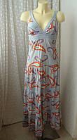Сукня сарафан бавовна літо р. 40 7055а, фото 1