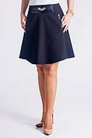 Красивая молодёжная юбка чёрного цвета