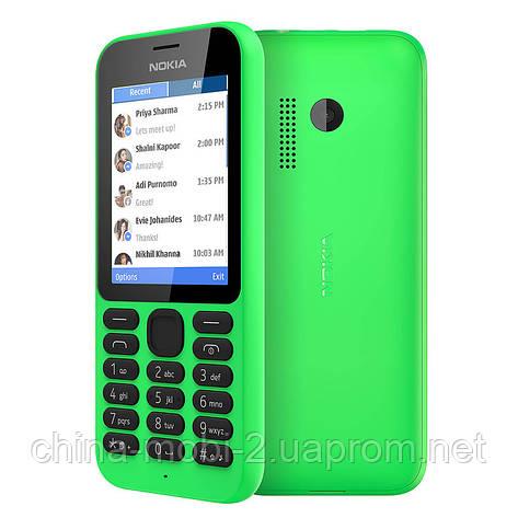 "Телефон Nokia 215 DS Bright green 2,4"", фото 2"