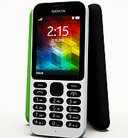 "Телефон Nokia 215 DS White 2,4"", фото 1"