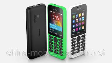 """Телефон Nokia 215 DS Black 2,4"""", фото 2"""