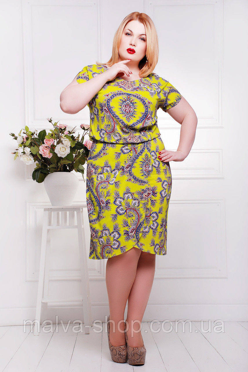 5a9fce2efbc7 Модные женские платья батал -