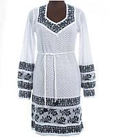 Нежное женское платье из льна Зеленый, Лен, Длинный, 48