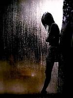 Метафорические ассоциативные фотокарты «Человек под дождем»