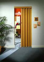 Складная дверь-гармошка Rapid 88x203 светлое дерево  под сосну