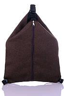 """Взрослый рюкзак - сумка """" Cosy"""" (коричневый), фото 1"""