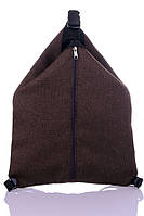 "Рюкзак - сумка "" Cosy"" (коричневый), фото 1"