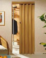 Складная дверь-гармошка Rapid 88x203 цвет: дуб