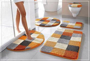 Комплекты ковриков для ванной комнаты