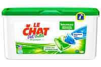 Капсулы для стирки Le Chat Duo-Bulles Expert с пятновыводителем, 32 шт