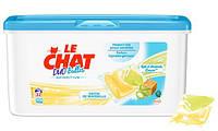 Капсулы для стирки Le Chat Duo-Bulles Sensitive с марсельским мылом, 32 шт