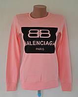 Хлопковая кофточка с наднисью Balenciaga, фото 1