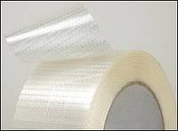 Прозрачная армированная клейкая лента, 48мм х 50м х 170мкм
