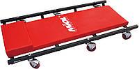 Тележка-лежак для механика подкатная металл., 6 колес