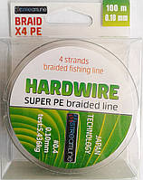 Шнур STREAMLINE HARDWIRE 100m 0.10mm dark green 4-жильный
