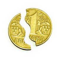 Фокус Откусывание монеты Гривня