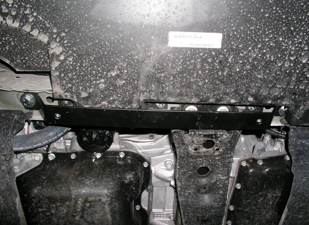 Защита двигателя Dodge Caliber 2006-2012 V-2,4,АКПП,двигун, КПП, радиатор (Додж Калибер)