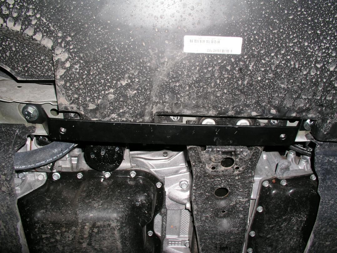 Защита картера Dodge Journey 2011- V-2,0 JTD; 2,4, АКПП, двигун, КПП, радиатор (Додж Джорни) (Kolchuga)